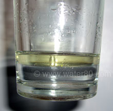 Other kinds of purified water completely separated from oil
